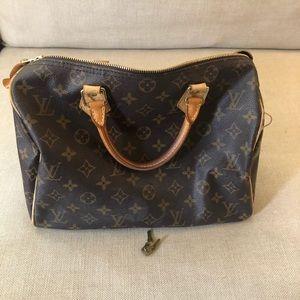100% Authentic - Louis Vuitton Speedy 30